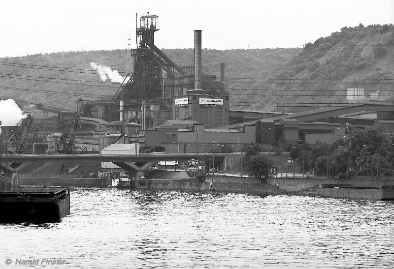 Number 7 Blast Furnace : Steelmill cockerill sambre